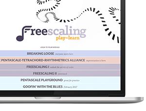 Freescaling modules screenshot