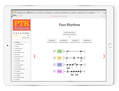 Pentascale-Tetrachord-Rhythmetrics Alliance screenshot